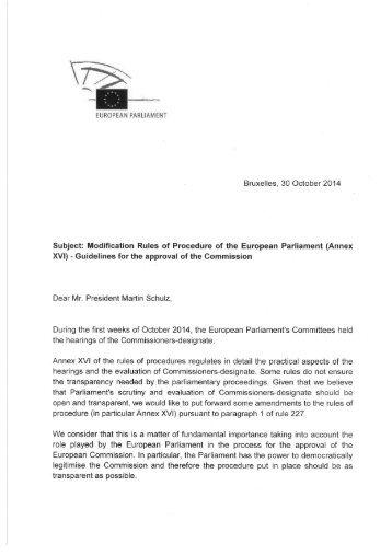Amendments Letter Isabella to Schulz