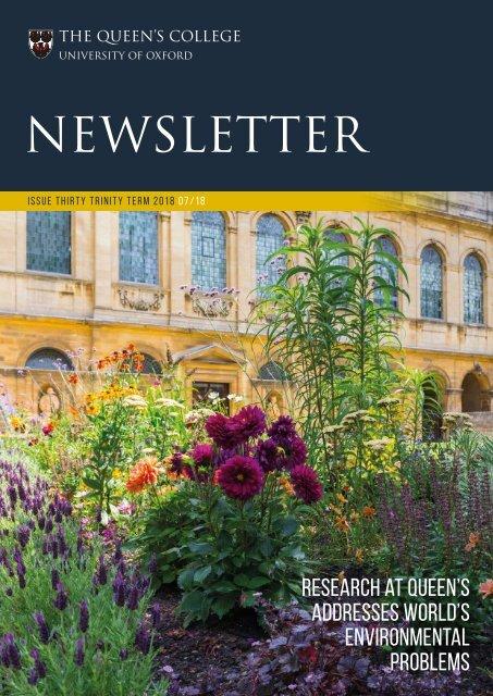 Newsletter-Issue 30-Trinity 2018