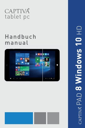 PAD 8 Windows 10 HD