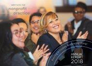 Institute for Nonprofit Practice 2018 Annual Report