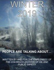 Newsletter Winter 2019 Issue