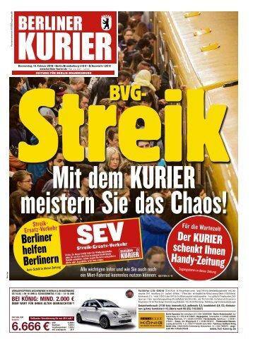 Berliner Kurier 14.02.2019