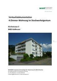 Verkaufsdokumentation 4-Zimmer-Wohnung im Stockwerkeigentum