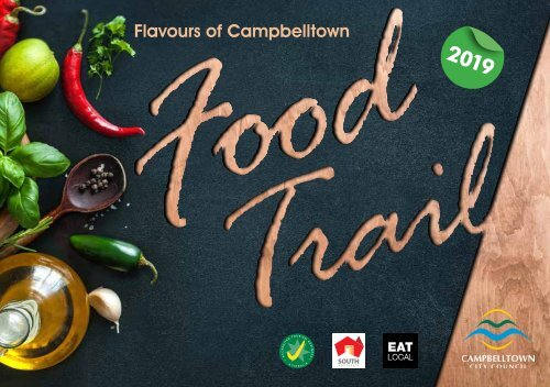 2019 Flavours of Campbelltown Food Trail Booklet