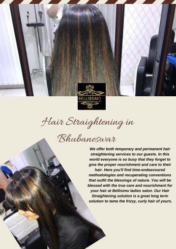 Hair Straightening in Bhubaneswar