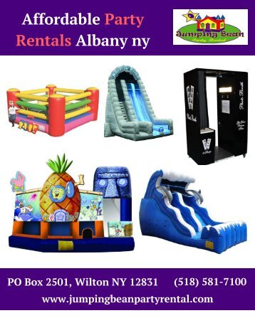 Affordable Party Rentals Albany ny