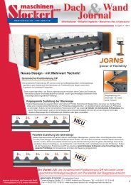 Dach und Wand Journal 7.0