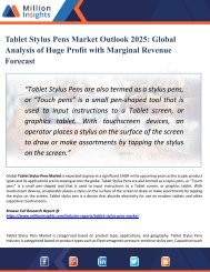 Tablet Stylus Pens Market Outlook 2018-2025 | Industry Analysis, Opportunities, Segmentation and Forecast