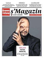 s'Magazin usm Ländle, 17. Februar 2019