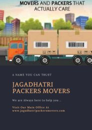 Packers Movers in Cuttack