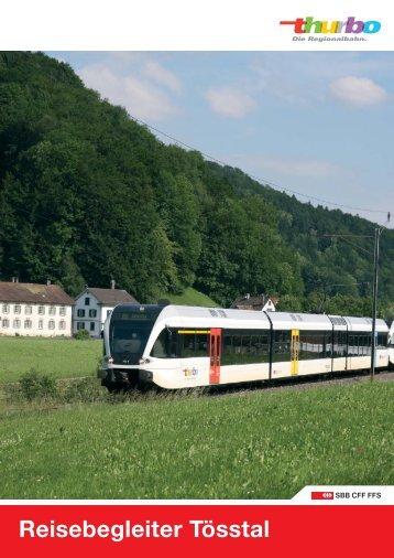 Reisebegleiter Tösstal (S26) downloaden - Thurbo