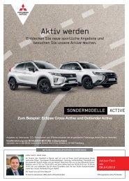 Mitsubishi Active-Wochen by Herbrand-Jansen