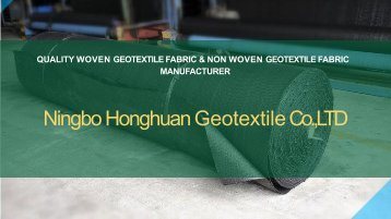 Geotextile-Separation-Fabric Magazines
