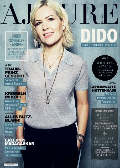 AJOURE´ Magazin März 2019