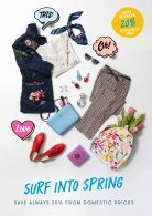 **Tallinn-Stockholm, March-April 2019, Spring Shopping Tallink light - Page 3