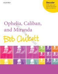 Chilcott: Ophelia Caliban and Miranda