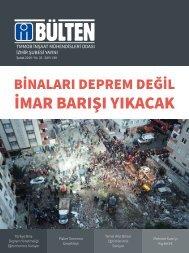 İMO İzmir Şubesi Bülteni - Şubat 2019