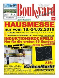 Boulevard Dachau Ausgabe Februar 2019