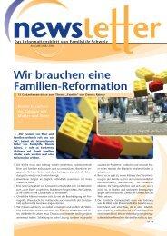 März 2006 - Wir brauchen eine Familien-Reformation - FamilyLife