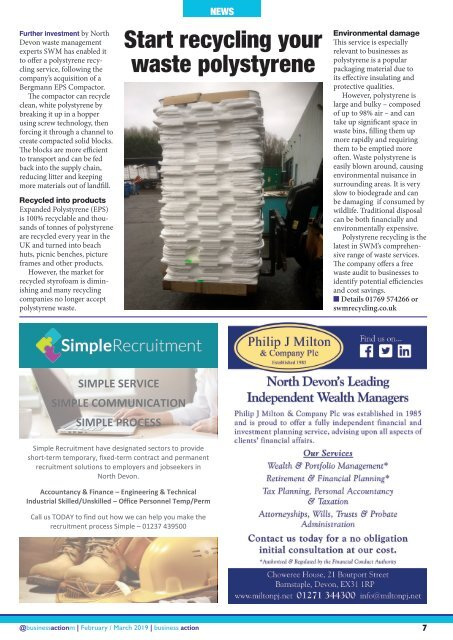Business Action | February / March 2019