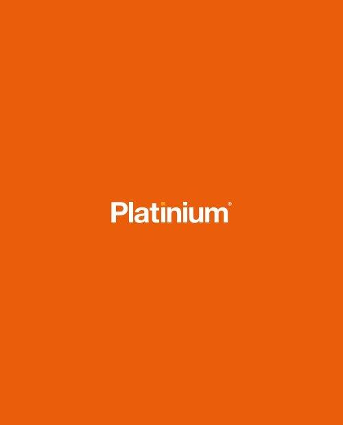 Platinium Catálogo Produtos 2019