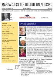 Massachusetts Report on Nursing - March 2019
