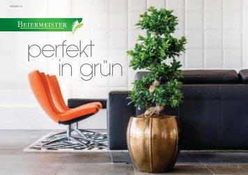 Perfekt in Grün