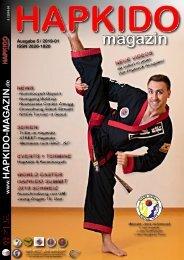 HAPKIDO magazin 2019-01 ISSN 2626-1820