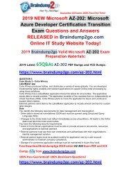 (2019-February-New) AZ-202 VCE Dumps 65Q Free Download(Q5-Q6)