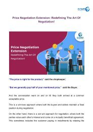 Price Negotiation Extension_ Redefining The Art Of Negotiation!