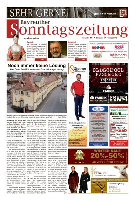 2018-02-17 Bayreuther Sonntagszeitung