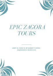 Morocco Excursion
