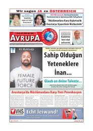 HABER AVRUPA - EUROPA JOURNAL FEBRUAR 2019