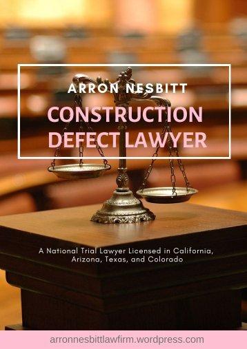 Best Construction Defect Lawyer