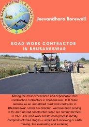 Road Work Contractor in Bhubaneswar