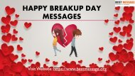 Best Breakup Day Messages - Breakup Wishes, Breakup Quotes