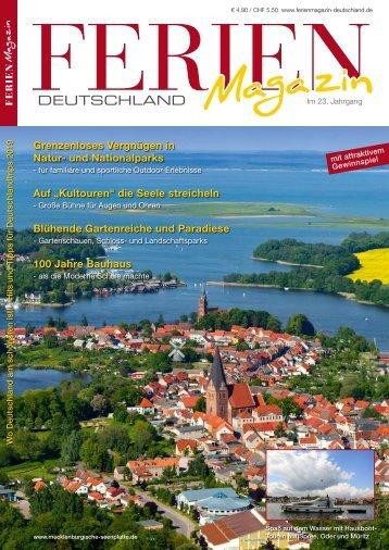 Ferienmagazin Deutschland 2019