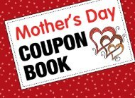 Mother's Day Coupon Book - With 60 Beautiful Write-In Gift Vouchers