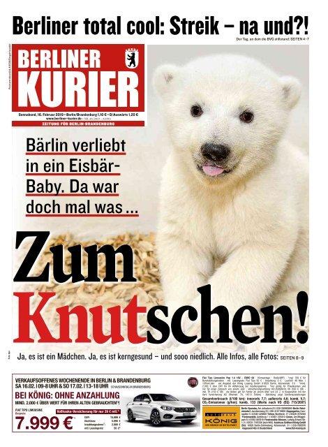 Berliner Kurier 16.02.2019
