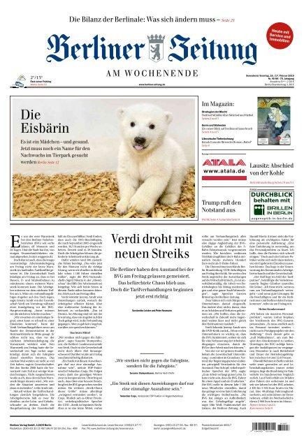 Berliner Zeitung 16.02.2019