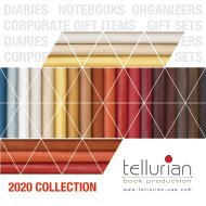 Tellurian 2020 Catalogue featuring diaries, notebooks and other gift items