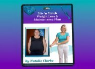 Mix 'n Match Weight Release and Maintenance Plan