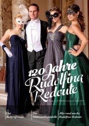 120 Jahre Rudolfina-Redoute - Beilage zur ACADEMIA Ausgabe im Februar 2019