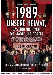 Schwarwel: 1989 - Unsere Heimat, ... (Leseprobe mit Rainer Müller und Oliver Kloss)