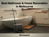Best Bathroom & Home Renovation in Melbourne - Renoworx