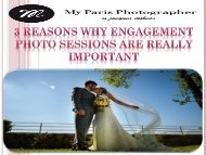3 Reasons Why Engagement Photo Sessions Are Really Important