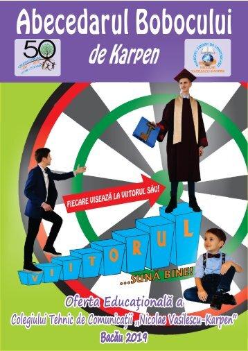 Oferta educationala Colegiul Karpen 2019