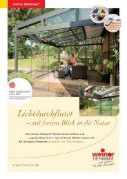 Glasoase - Kolmer Fenster - Türen Wintergarten GmbH
