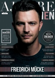 AJOURE´ Men Magazin März 2019
