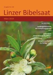 Linzer Bibelsaat Nr.148 (Ausgabe März 2019)